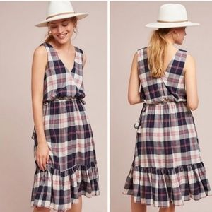 Anthropologie | Dickens Plaid Dress